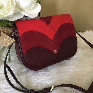 Kate Spade Nadine patchwork shoulder/crossbody bag